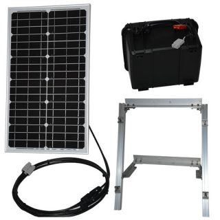 30 watt solar panel power supply kit