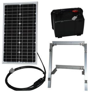 30 watt solar panel power supply kit