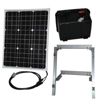 50 watt solar panel power supply kit