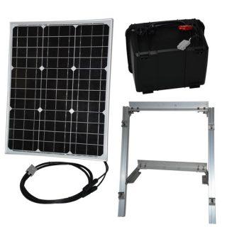 50 watt solar panel power supply kit
