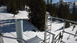 Satellite camera ice and snow monitoring