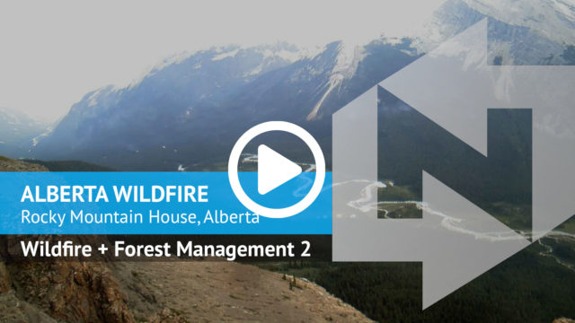 Nupoint Remote Viewer FIRE Alberta Wildfire Rocky WMA