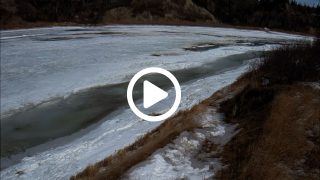 remote camera river ice & snow monitoring
